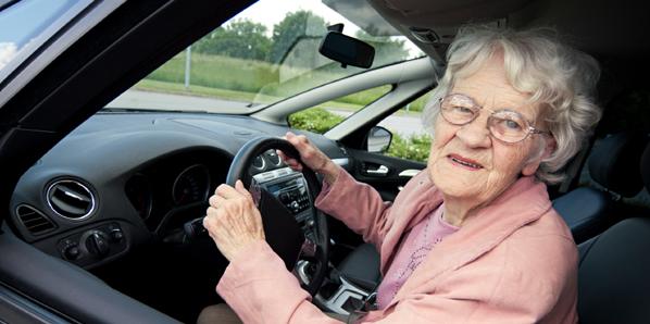 senior-woman-driving