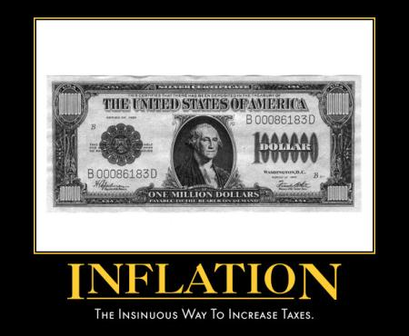 Inflation : the insidious way to increase taxes