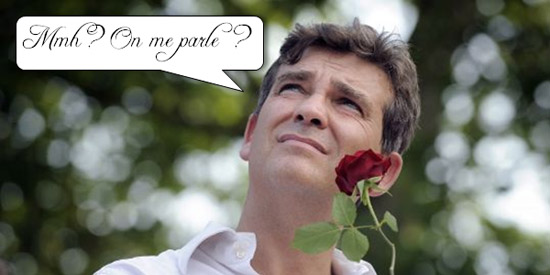 montebourg et sa rose