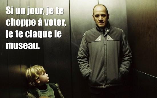 la vie des autres n'aime pas voter