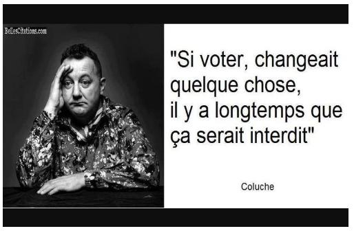 si voter changeait qqch