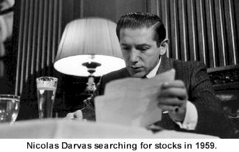 Le trader nicolas Darvas