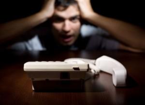 peur du téléphone 300x218 Une technique magique pour rebondir après un échec !