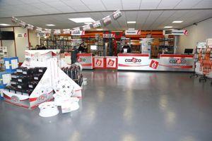 L'enseigne développe aussi des magasins en pleine zone commerciale. Ici celui de Vendeville au sud de Lille.