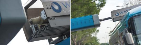 chargement bus supercondensateur