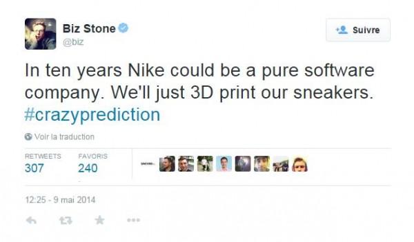Biz Stone prediction