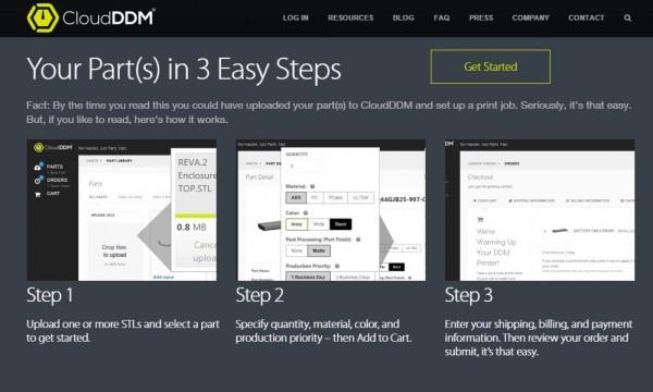CloudDDM 3 steps