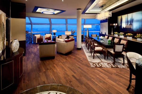 Celebrity reflection suite
