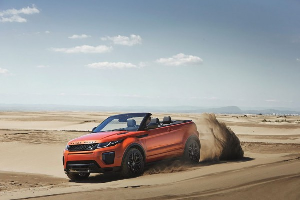 Salon LA new range rover evoque convertible