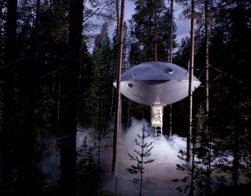 hotelstarwars treehotel cabane