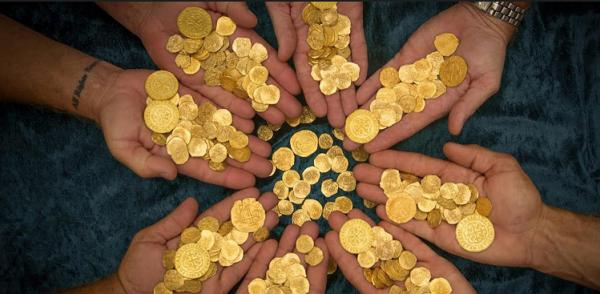 Span gallion coins 1715