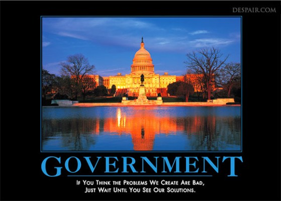 government-demotivator