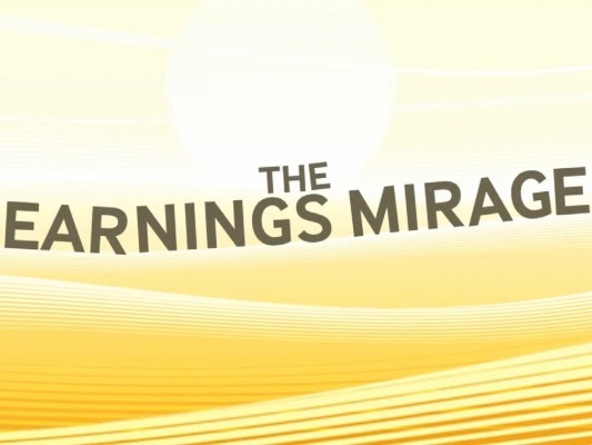 earnings-mirage
