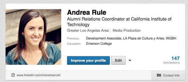 Your Profile   LinkedIn-2