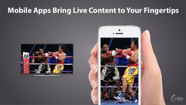 mobile apps live TV