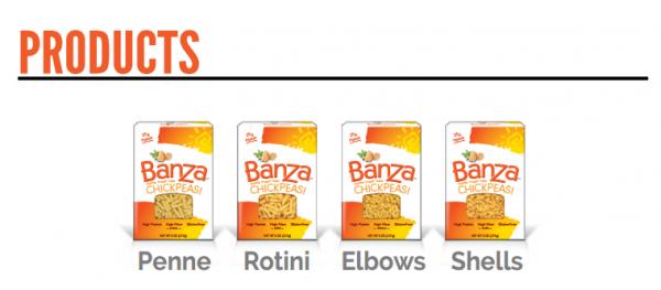 Banza products