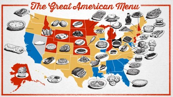 american menu