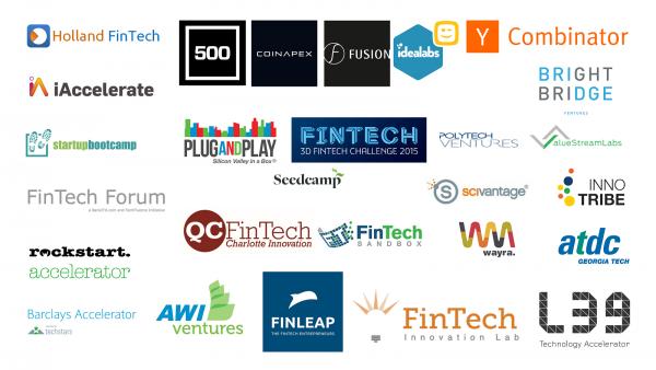 best accelerators worldwide for FinTech