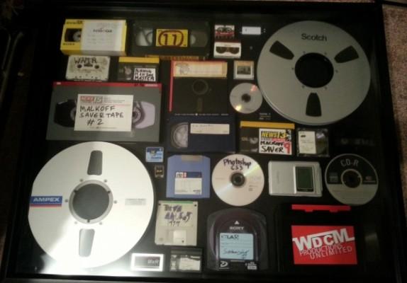record digital material