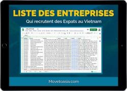 Liste des entreprises qui recrutent des expatriés au Vietnam