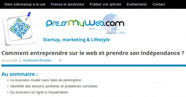 Comment entreprendre sur internet : affiliation et expatriation