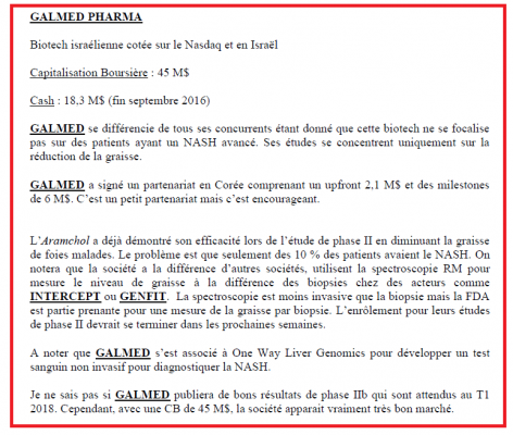 GLMD extrait rapport