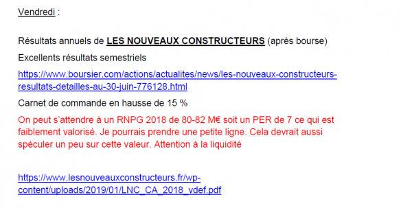 newsletter 17032019