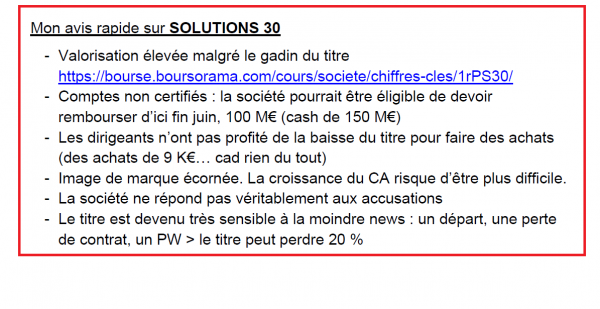 solutions 30 3005