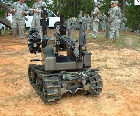 Robot militaire 2
