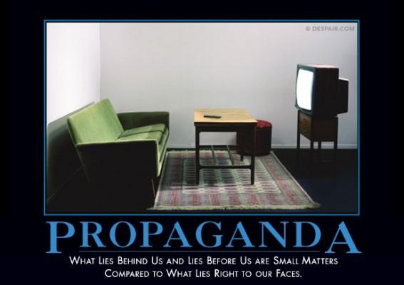 propaganda demotivator