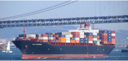 bateau container maritime transport