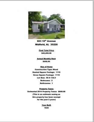 Alabama offre maison 1